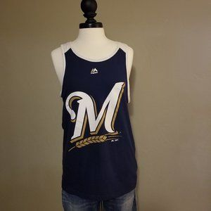 Tops - Size Small Milwaukee Brewers Tank Top